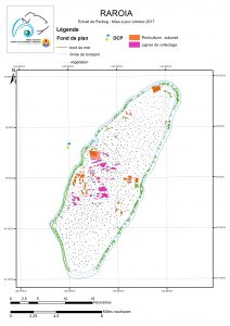 Atlas de Polynésie : Raroia au 09/10/2017