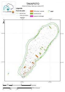 Atlas de Polynésie : Takapoto au 9/10/2017