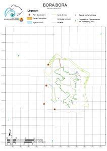 Atlas de Polynésie : Bora Bora mise à jour janvier 2018