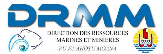 Direction des Ressources Marines et Minières Logo