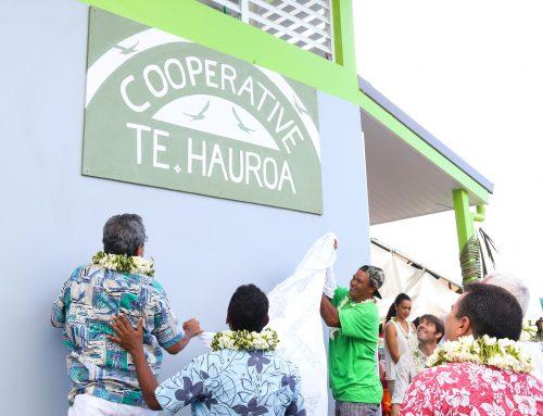 Inauguration de la Machine à glace sur le site « Darse de Faratea »