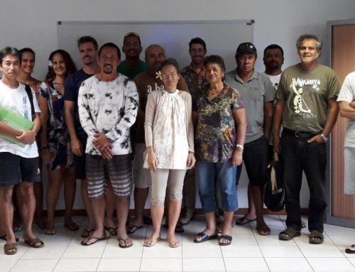 Rencontre DRM et perliculteurs de Raiatea et Tahaa