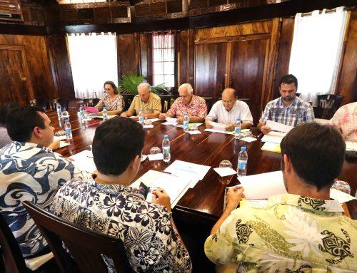 Claude Davio, nouveau président du CA au Port de pêche de Papeete