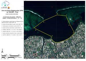 Coordonnées des points ZPR Pirae