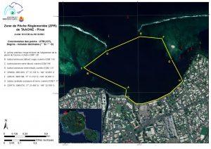 Pirae : Zone de Pêche Réglementée
