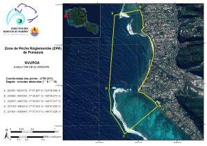 Punaauia - Nuuroa : Zone de Pêche Réglementée