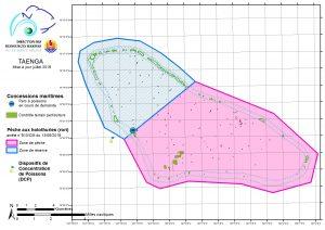 Atlas de Polynésie : Taenga, mise à jour juillet 2019