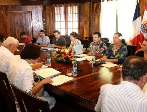 Le Vice-président réunit le Conseil d'administration du Centre des Métiers de la Mer de Polynésie française