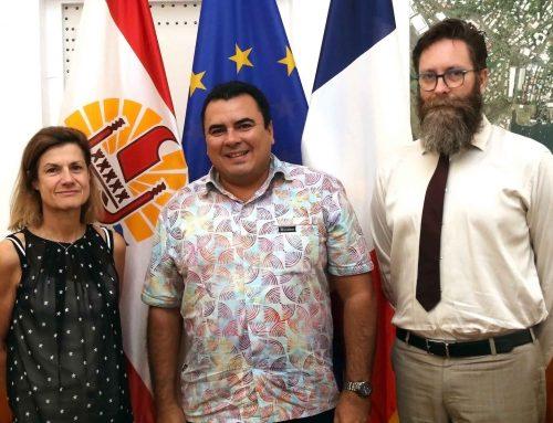 Le Vice-président reçoit l'ambassadrice, secrétaire permanente pour le Pacifique Sud