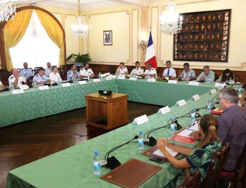 Première réunion de la commission maritime mixte