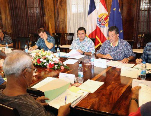 Le Vice-président préside le CA du CMMPF