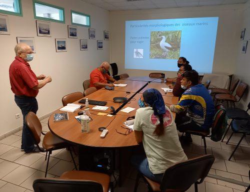 """Formation des observateurs embarqués """"Pêche"""" par l'association SOP-Manu"""