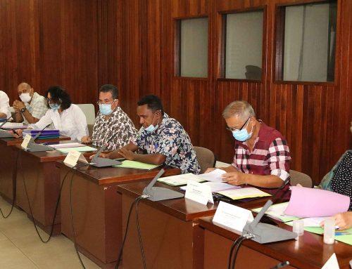 Le Vice-président préside le conseil d'administration du Centre des Métiers de la Mer de Polynésie française