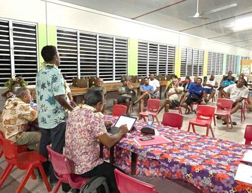 Le Vice-président à la rencontre des acteurs du secteur primaire de Huahine