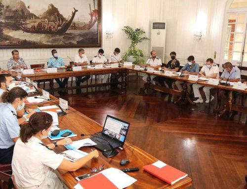 Troisième réunion de la commission maritime mixte (CMM) en Polynésie française
